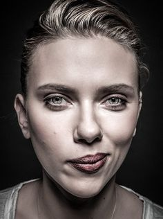 Scarlett Johansson by Andy Gotts