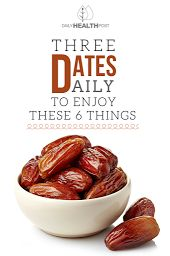 Three Dates Daily Enjoy These 6 Things