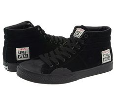 Vision Street Wear Hi-Top - The 50 Greatest Skate Shoes Casual Sneakers, High Top Sneakers, Shoes Sneakers, Retro Sneakers, Nike Inspiration, Moda Retro, Vision Street Wear, Fashion Shoes, Mens Fashion