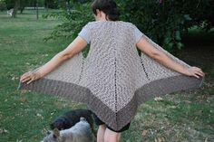 "Gilet ""Pipistrello "" all'uncinetto/ Crochet Bat Gilet   design/written instructions/ video tutorial   © Oana O.Bonacorsi     written instruc..."