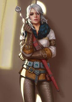 Cirilla Fiona Elen Riannon - The Witcher 3: Wild Hunt - Image #2178254 - Zerochan Anime Image Board