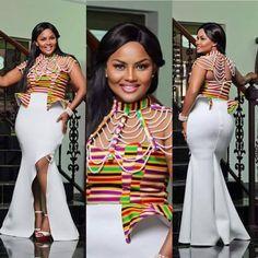 African Clothing , Kente women wear , Prom dress , Kente Dinner wear , Women wear.