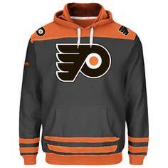 Philadelphia Flyers Majestic Double Minor Pullover Hoodie - Black