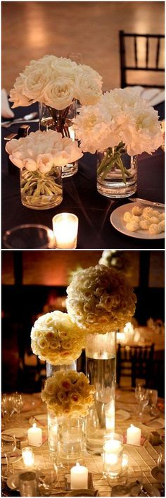 Are you thinking about having your wedding by the beach? Are you wondering the best beach wedding flowers to celebrate your union? Here are some of the best ideas for beach wedding flowers you should consider. Wedding Table Centerpieces, Flower Centerpieces, Centerpiece Ideas, Cylinder Centerpieces, Centrepieces, Bridal Shower Decorations, Wedding Decorations, Church Wedding Flowers, Wedding Bouquet