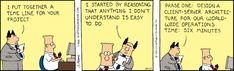 Dilbert Comic Strip on 1994-10-17 | Dilbert by Scott Adams