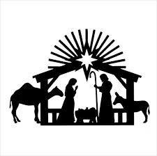 Resultado de imagem para christmas silhouettes