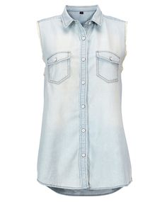 Gina Tricot -Dylan denim shirt