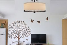 Ceiling fixtures Scandinavian minimalist living room bedroom Mediterranean Ceiling Light Covers American country round Lighting