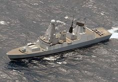 HMS Dauntless Royal Navy's new & most technologically advanced warship, to Spend the Weekend in Newcastle, UK