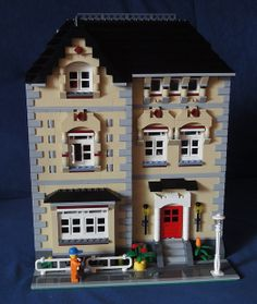 lego modular | Lego Modular Town House | Flickr - Photo Sharing!