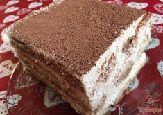 Krémový čoko dort s mascarpone Tiramisu, 20 Min, Nutella, Rum, Ethnic Recipes, Food, Pastries, Drinks, Mascarpone
