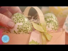 Martha Stewart shares a simple idea for decorating Easter eggs: Cut up a printed napkin and adhere the cutouts to the egg with decoupage glue. Easter Tree, Easter Eggs, Easter Crafts, Holiday Crafts, Nursing Home Crafts, Decoupage Glue, Valentines Day Messages, Easter Egg Designs, Martha Stewart Crafts