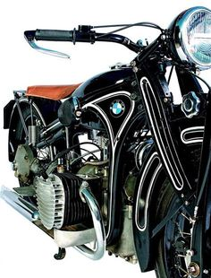 BMW R32 1925 | More here: http://mylusciouslife.com/stylish-home-luxury-garage-design/
