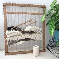 El bambú de Big Mama tejer telar