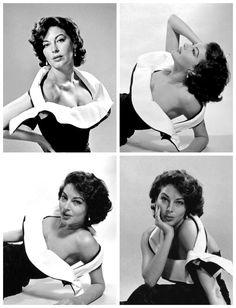 "elizabethrosemondtaylors: "" Ava Gardner photographed by Philippe Halsman, "" Old Hollywood Stars, Hollywood Icons, Golden Age Of Hollywood, Vintage Hollywood, Hollywood Actresses, Classic Hollywood, Actors & Actresses, Ava Gardner, Jean Harlow"