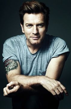 Ewan McGregor. I think he's generally awesome, but I especially love him in movies like Moulin Rouge and The Impossible.