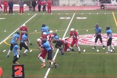 Either this Canadian high schooler is really good, or this defense is atrocious [VIDEO]