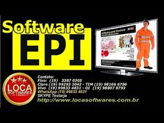 sistema controle de EPI equipamentos de segurança - YouTube Sistema Erp, Software, Youtube, Workplace Safety, Cloud, Youtube Movies