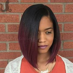 Have you found the right hair two tone red ombre bob full lace wigs bleached. Straight Hairstyles, Girl Hairstyles, Quick Weave Hairstyles Bobs, Black Hair Bob Hairstyles, Bridesmaid Hairstyles, Short Hair Styles, Natural Hair Styles, Bob Styles, American Hairstyles