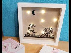 Make It Yourself, Frame, Youtube, Diy, Instagram, Wood Pictures, Paper Bag Crafts, Creative Crafts, Lightbox