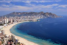 Benidorm, the Las Vegas of the Costa Blanca! A fun place to check out while you are in Gran Alacant