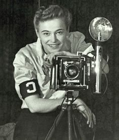 Dickey Chapelle (March 14, 1919 - November 4, 1965) - female war correspondent - photographer - She became the first female war correspondent to be killed in Vietnam, as well as, the first American female reporter to be killed in action