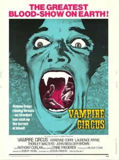 Vampire Circus (1972) poster