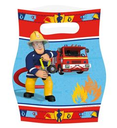 Partytueten-Feuerwehrmann-Sam
