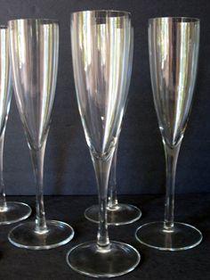 vintage champagne flutes | Crystal Champagne Flutes