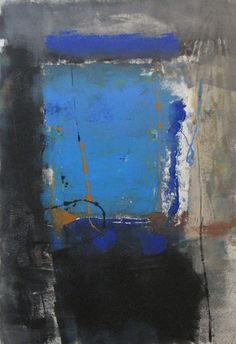 Coda IV / monotype / 32 x 22 in. image size, 49 x 37 in. framed Tony Saladino