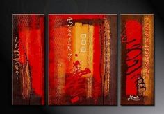 Abstract Art, Red Abstract Painting, Bedroom Wall Art, Large Painting, – Silvia Home Craft Hand Painting Art, Wall Art Painting, Red Abstract Painting, Painting, Large Painting, Abstract Wall Art, Canvas Painting, Canvas Paintings For Sale, Large Wall Art