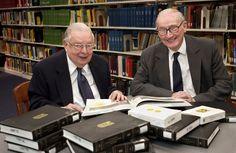 The influential life of distinguished professor emeritus and library champion, John Pilkington (left)