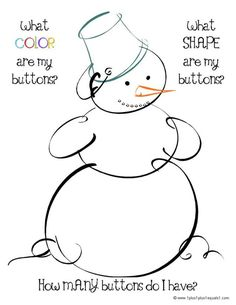 Lots of great toddler printables and activities