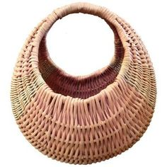 Round Gradient Bohemian Basket