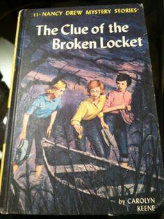 Nancy Drew books. Read many of them.
