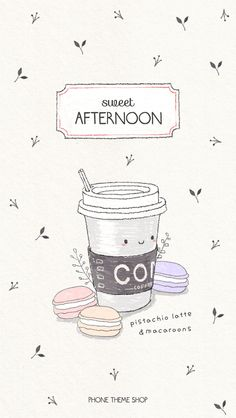 """Friend recommended """"Sweet Afternoon"""" KakaoTalk theme. Check it out now on Phone Themeshop (for iOS)?  #KakaoTalkTheme link : http://pts.so/go.php?i=650886  #PhoneThemeshop app available on the App store http://pts.so/go.php?i=461908. Please install the app to check 3the shared KakaoTalk theme."""