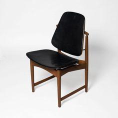Arne Hovmand-Olsen; Teak Frame Side Chair, 1950s.
