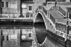 Venice Italy - black and white