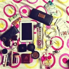 All the stuff in my bag☺ by Deimante