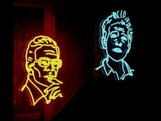 Neon Faces by ZoeSaol