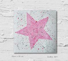 Acrylmalerei - Acrylbild auf Papier **Dein Stern 4** #129 - ein Designerstück von SoMa-Art bei DaWanda
