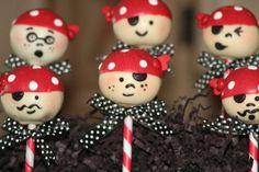Pirate Cakes - Sweets - Festive menu - Publisher - to arrange a holiday! Красивые Торты, Восхитительные Торты, Пирожное На Палочке, Конфеты, Идеи Для Вечеринки, Детская Вечеринка, Украшения