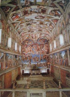 La Chapelle Sixtine (Vatican)