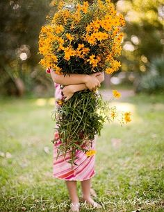 Gathering a big bouquet for a special occasion. Love Flowers, Yellow Flowers, Wild Flowers, Beautiful Flowers, Flowers Today, Summer Flowers, Sun Flowers, Growing Flowers, Beautiful Life