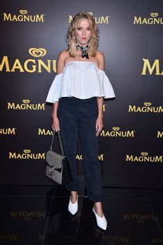 Gwiazdy na premierze nowych lodów Magnum: Jessica Mercedes, fot. East News