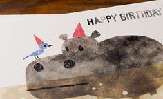 Chris Sasaki for Red Cap Cards Happy Birthday Greeting Card