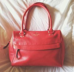 Red Kate Spade purse