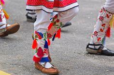 Calusari, a Romanian folk dance