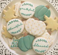 Little Prince Cookies by LittlePrinceCookies Thanksgiving Cookies, Fall Cookies, Iced Cookies, Cut Out Cookies, Cute Cookies, Thanksgiving Sale, Sugar Cookie Recipe For Decorating, Cookie Decorating, Cookie Ideas