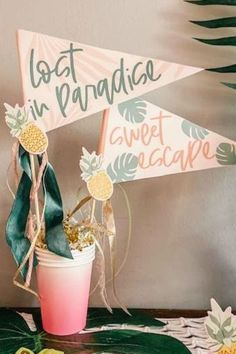 Take a look at this fabulous flamingo bachelorette party! The decorations are wonderful See more party ideas and share yours at CatchMyPartyy.com #catchmyparty #partyideas #flmaingos #flamingoparty #bachelorette #partydecorations